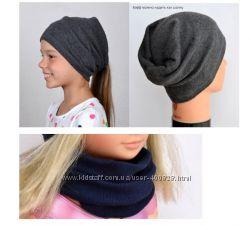Шапка-бандана-шарф-хомут-снуд разные цвета