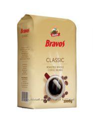 Bravos Classic кофе зерновой и молотый, 1 кг