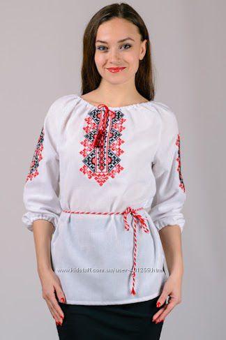 вышиванка сорочка блуза для женщин размеры с 42 по 58