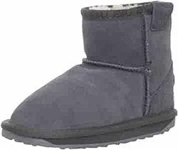 EMU Australia Wallaby Mini Boot. Угги замш и шерсть зима. Размер 32