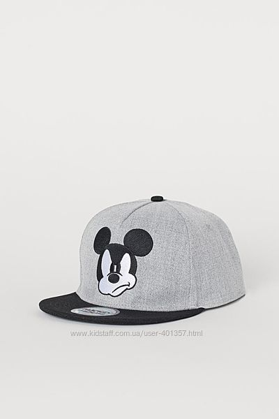 H&M. Стильные кепки Paw Patrol Mickey Mouse. Размеры