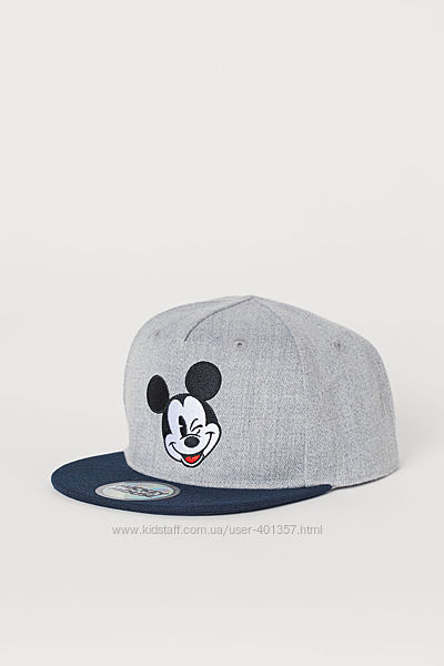 H&M. Кепка Mickey Mouse. Размер 8-12