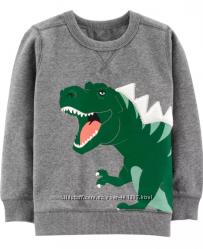 Carters. Свитшот с динозавром. Размеры