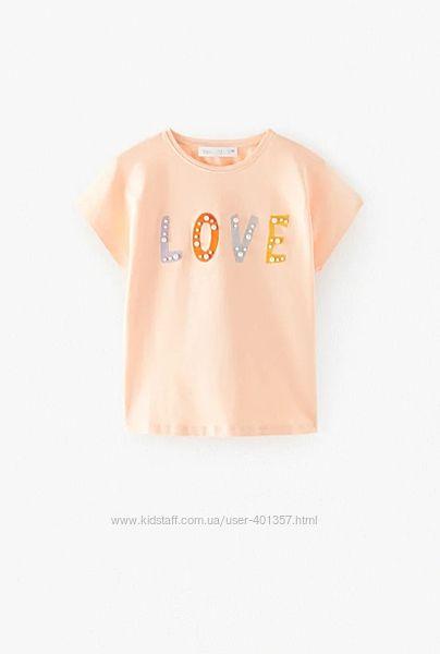 Zara. Очень красивая футболочка. Размер 11-12
