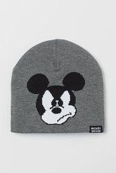 Mickey mouse H&M. Шапочка деми. Размер 48-12