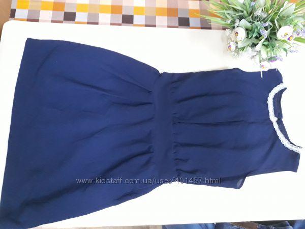 платье шифоновое  146р