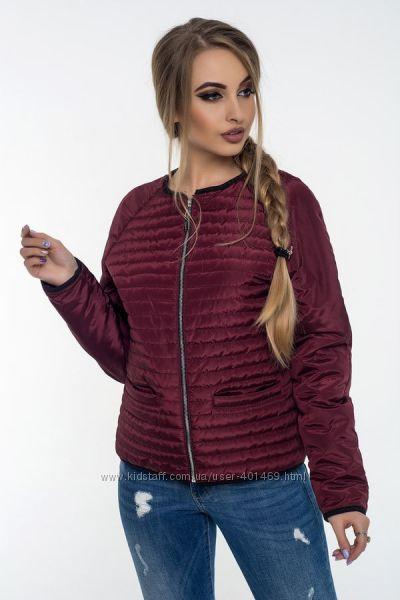 Куртка женская демисезонная 55 разные цвета