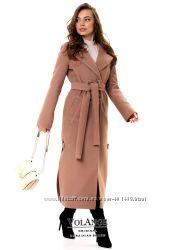 Пальто женское демисезонное Дания Кашемир разные цвета