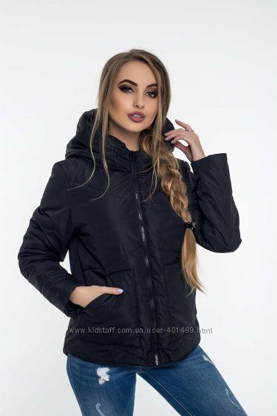 Куртка женская демисезонная Асимметрия 47 разные цвета