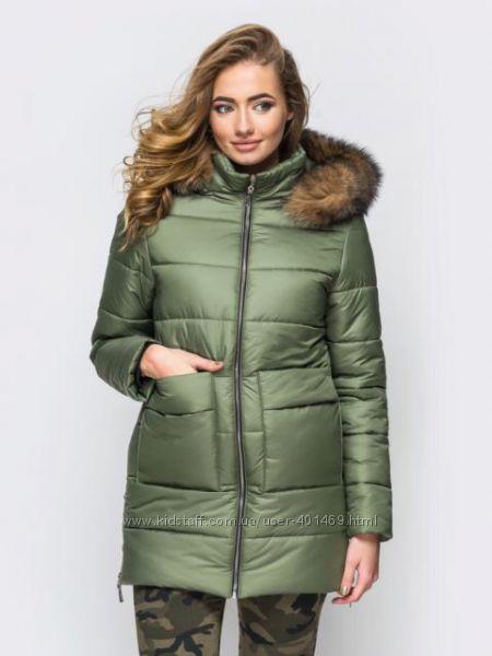Зимняя женская куртка арт. 00039 разные цвета