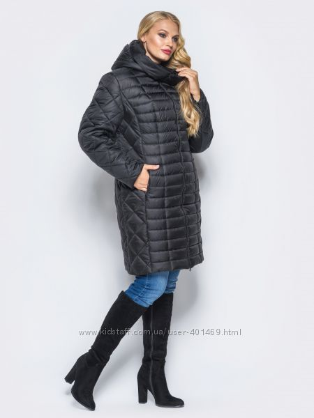 Зимняя женская куртка, пальто батал арт. 00073 разные цвета