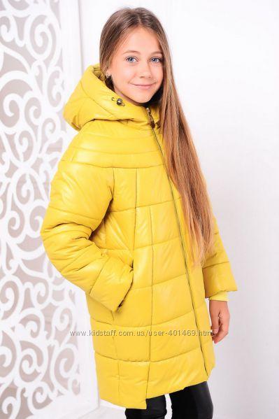 Куртка зимняя для девочки Николь
