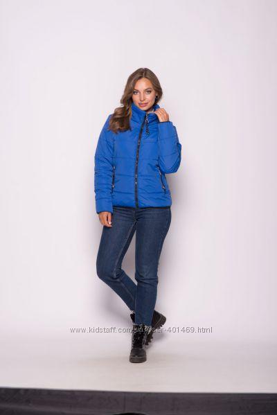 Куртка женская демисезонная 00036  р. 42-52  разные цвета