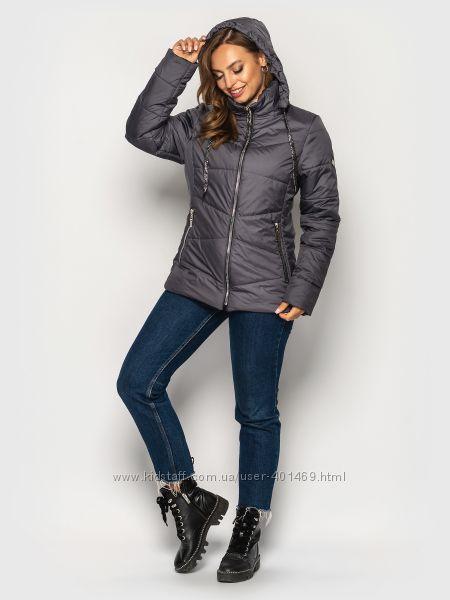 Куртка женская демисезонная  563  р. 50-64  разные цвета