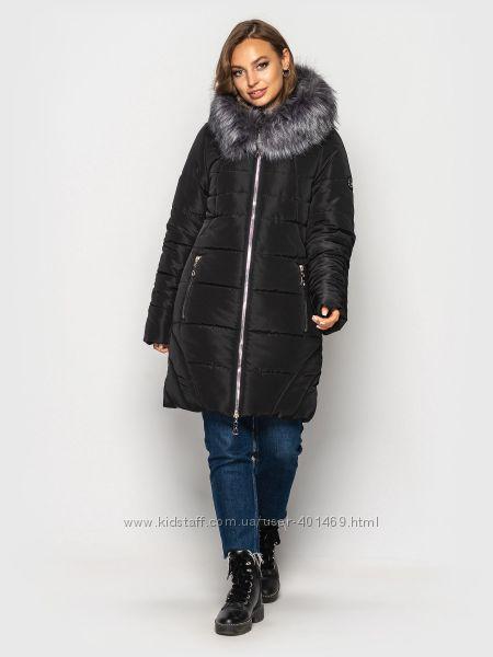 Зимняя женская куртка арт. 00077  р. 50-60  разные цвета