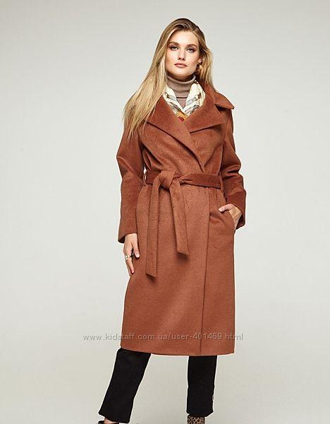 Пальто демисезонное женское Миндаль