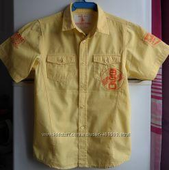 Шикарные брендовые рубашки 11-12 л