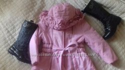 Пальто Италия Aletta Laura Biaqiotti евро зима 5 лет