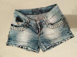 Лёгкие шорты джинсовые