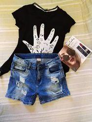 Шорты летние, джинсовые