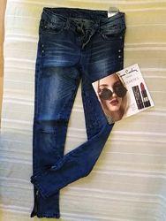 Крутые джинсы скини