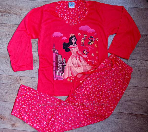 Пижама подростковая, трикотажная для девочки Венгрия. 140 р
