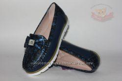 Мокасины, туфли для девочек ТОМ М р 31-36. В наличии.