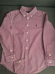 Стильная рубашка Ralph Lauren  на подростка 12-14 лет