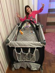 Продам детский манеж - кроватку Chicco в отличном состоянии