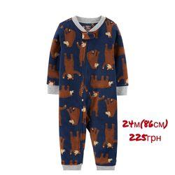 Флисовые комбинезоны/пижамы Carters