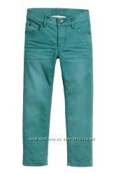 Узкие стрейчевые брюки H&M
