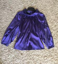 Очень красивая легкая блуза насыщенного фиолетового цвета. oodji. p. 46