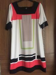 Яркое платье с геометрическим рисунком. alfani. р. L. на наш 50-52