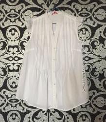 b61ad71170a Легкая летняя рубашка без рукавов свободного кроя. Ostin. р. L