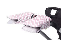 Муфта для рук на коляску Pink