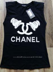 майка Chanel, фабричная Турция