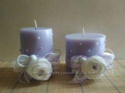 Набор свечей для декора