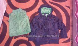 практичная куртка F&F на рост до 110