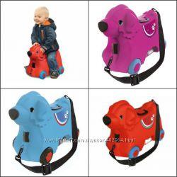 Детский чемодан на колесиках BIG 0055350 лучше чем TRUNKI все цвета