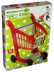 Тележка для супермаркета с набором продуктов, Ecoiffier 1225
