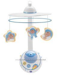 Мобиль карусель на кроватку Первые мечты Chicco 24292