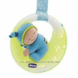 Музыкальная игрушка на кроватку голубая Chicco Чикко 71760. 00