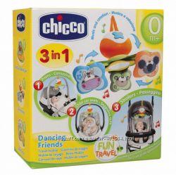 Игрушка на коляску Танцующие друзья CHICCO 718819