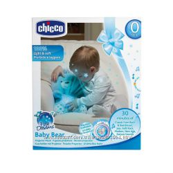 Мягкий мишка ночник CHICCO 80152
