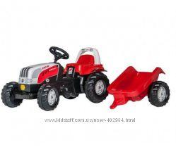 Детский педальный трактор Rolly Toys Kid Steyr 012510