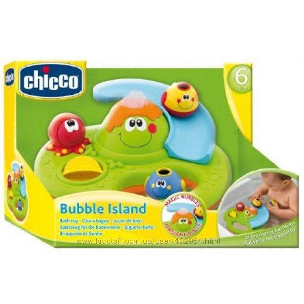 Игрушка для ванной Остров мыльных пузырей Chicco 70106