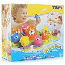 Семейка осьминогов игрушка для ванной 2756