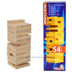 Настольная игра Simba Дженьга, деревянная башня 6125033