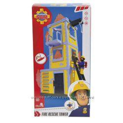 Набор для игры тренировочная база Пожарный Сэм Simba 9251053