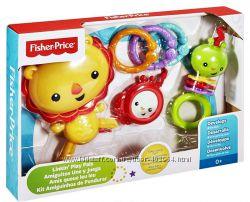 Fisher Price Погремушки лев и друзья  DFP75